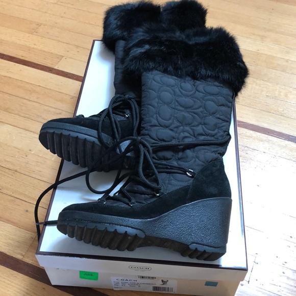 Coach sofie boots
